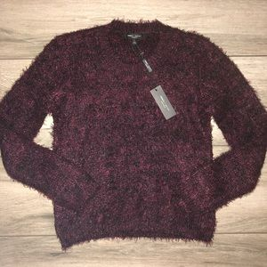 NWT Burgundy Romeo&Juliet Couture Sweater